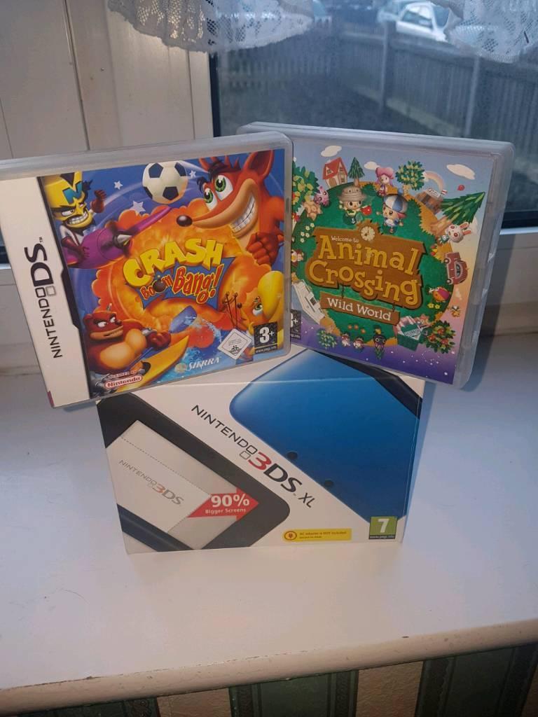 Nintendo 3DS XL Black & Blue