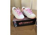 Genuine Heelys - Pink and White-sizes 12 & 13