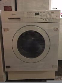 NEFF free standing integrated washer & dryer in very good condition & fully working order
