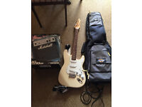 Liberty Electric Guitar, Amp, Case & Leads - All you need to get started!