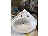 Lecico basin two tap 37cm