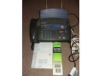 Telephone/fax machine