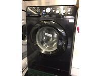 BLACK INDESIT WASHING MACHINE £140 CAN DELIVER