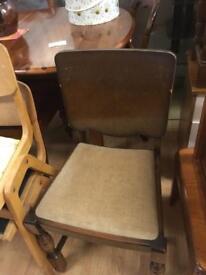 4 retro dinning chairs