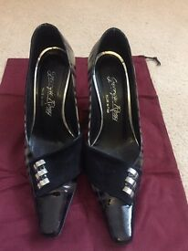 36 size Italian made leather shoes