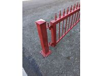 Wrought iron security barrier / gate - new