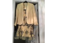 Jacques Vert dress and jacket. Mother of the bride wedding outfit.