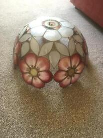 Vintage Capiz Shell Lampshade