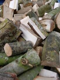 Hardwood Seasoned Split Logs Firewood (Free Delivery)