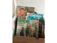 Vintage vinyl 43 mixed LPs plus 2 box sets