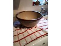 Vintage Denby cooks bowl