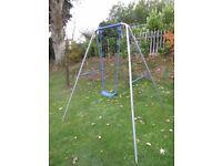 Childrens Garden Swing