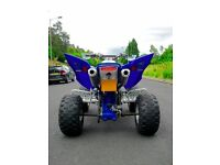 YAMAHA RAPTOR 700 TWIN DMC EXHAUST SYSTEM COMPLETE 2006-2015