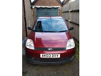 Ford fiesta Finesse 1.3 with low mileage