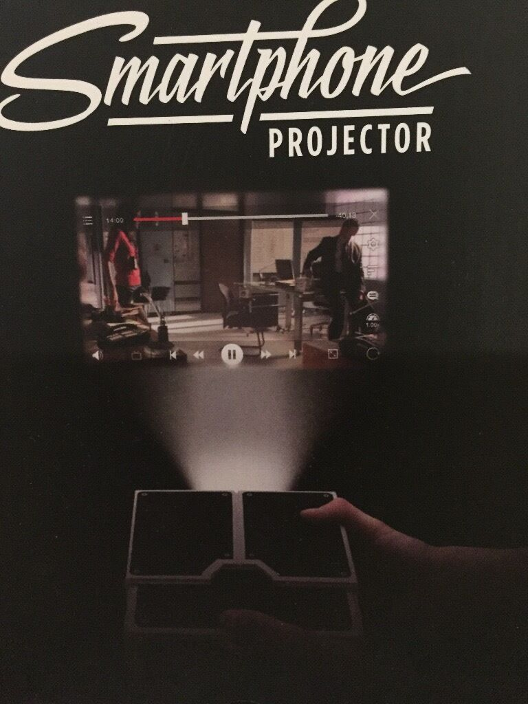 Smartphone projectorin Clifton, BristolGumtree - Make your own smart phone projector new nearky £20 but this is nearly new and only £7.50