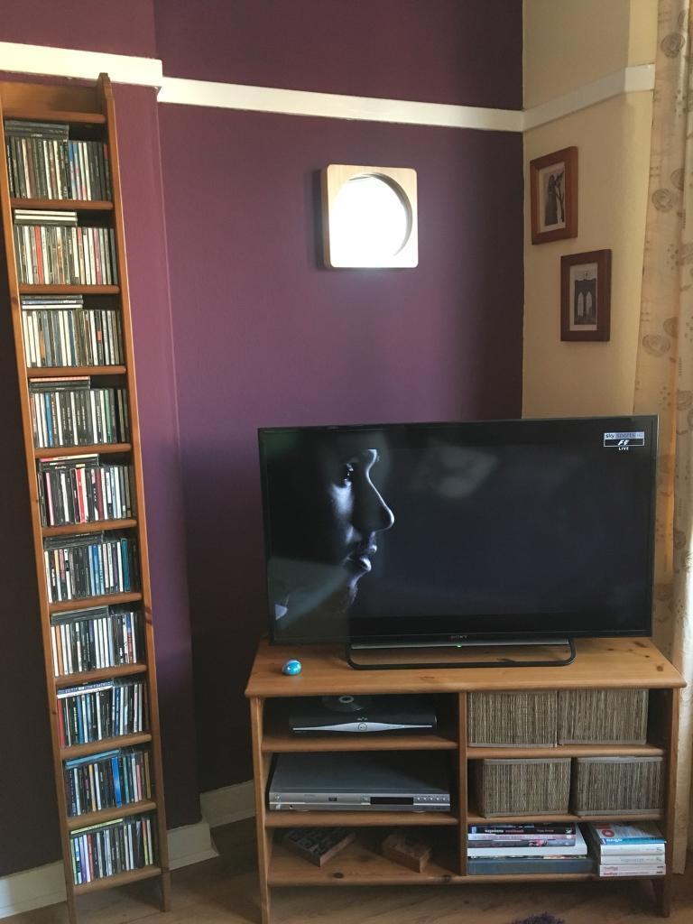 Ikea Living Room Furniture Tv Unit Cd Rack Coffee