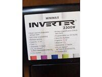 Minimal inverter oil heater