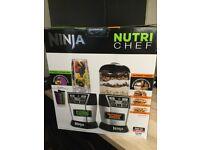 NINJA NUTRI-CHEF -New & Unboxed