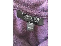 Purple Topshop Top - Size 12