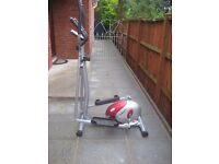 Cross trainer for sale..OneBody model...Like new.