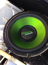 Fusion sub 600 watts