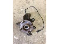 Ford Fiesta mk6 offside hub with ABS Essex Ss17