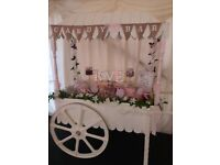 Bespoke handcrafted Candy cart hire for all occasions.