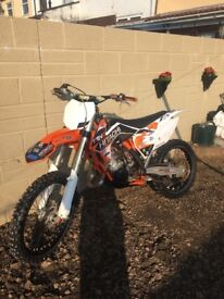 Ktm 150 great condition, oil change every ride