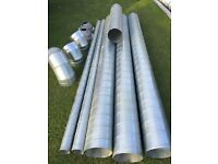 Ceiling Extraction Galvanised Ducting Tube