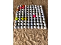 x100 GOLF BALLS SUITABLE PRACTICE NO RIPS OR TEARS COLLECTION COLLIER ROW ROMFORD RM5 3EJ 4ANIMALS