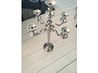 Small Candelabra with round base