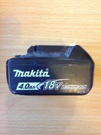 18v makita batteries