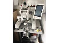 Brother PR650 embroidery machine. Extremely light use and loads of extras, ideal business start up.