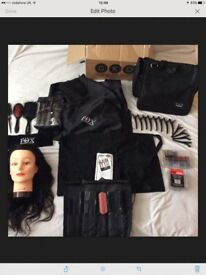 Hairdressing Kit for a Student -Headfix Styling Head etc by Charles Fox College Direct Kits