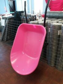Plastic 85L Coloured Barrows (4 colours)