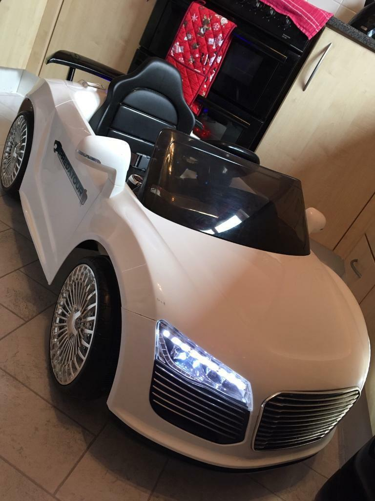 Audi Ride on cabriolet