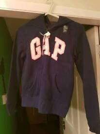 """""""GAP"""" girls hoodie. 10-11 new"""