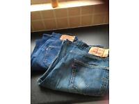 Men's Levi 501 jeans.