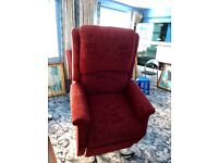2 electric orthopaedic recliner armchairs.