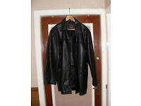 Mens XXL Leather Jacket.