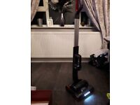 Cordless rechargeable hoover