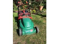 Qualcast Easitrak 320 electric lawnmower