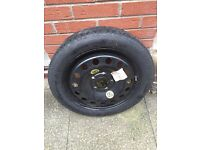Continental space saver spare tyre 125 / 80 R17