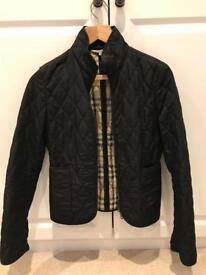 Genuine Burberry Ladies Quilted Jacket - Size 6
