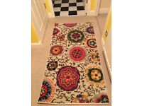 Brand new floral rug