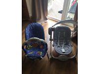 Baby swing & bouncy chair