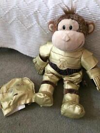 Monkey C3PO build a bear