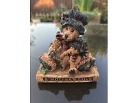 Mothers love teddy ornament