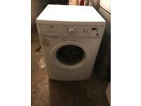 7KG ZANUSSI ZWF12380W Digital Washing Machine Fully Working with 4 Month Warranty
