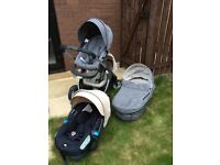 Stokke Crusi Travel System With Sibling Seat